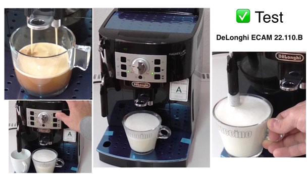On teste pour vous la machine à café Magnifica S ecam 22.110.b de Delonghi