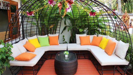 Les différents types de mobiliers de jardin